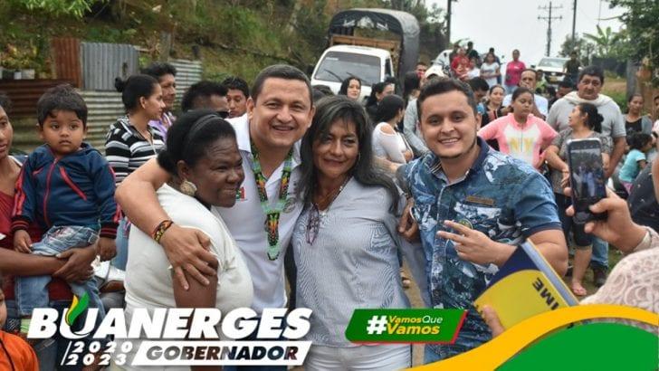 Mocoa apoya a Buanerges Rosero – 13 municipios, un solo corazón