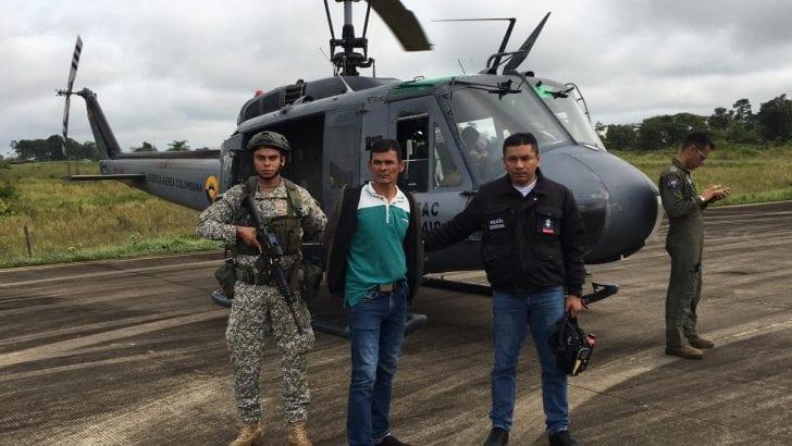 Capturado alias «Ezequiel», máximo cabecilla de las redes de apoyo del Grupo Armado Organizado Residual