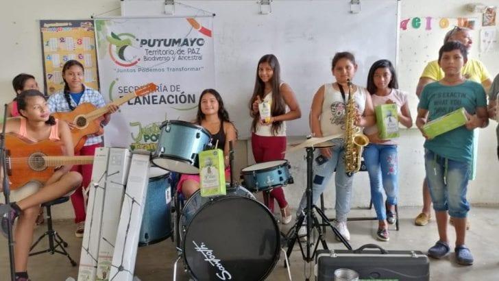 Fortalecimiento a Clubes de Aprendizaje en IE de Leguízamo
