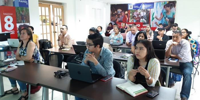 Putumayo se capacitó en plataformas digitales de oferta institucional para sobrevivientes del conflicto