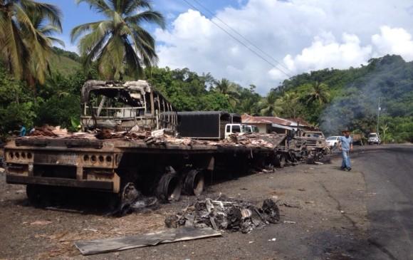 El seguro por actos terroristas en carreteras inquieta al transporte