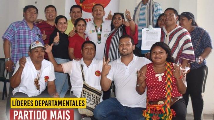 Líderes Departamentales del Partido MAIS apoyan a Buanerges Rosero