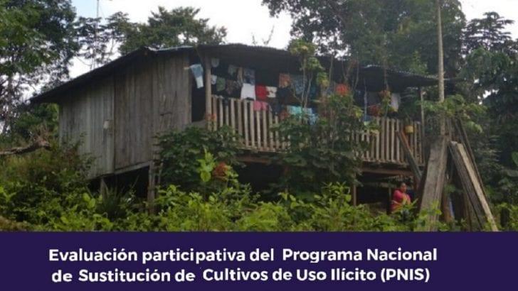 Presentan evaluación participativa del Programa de Sustitución de Cultivos
