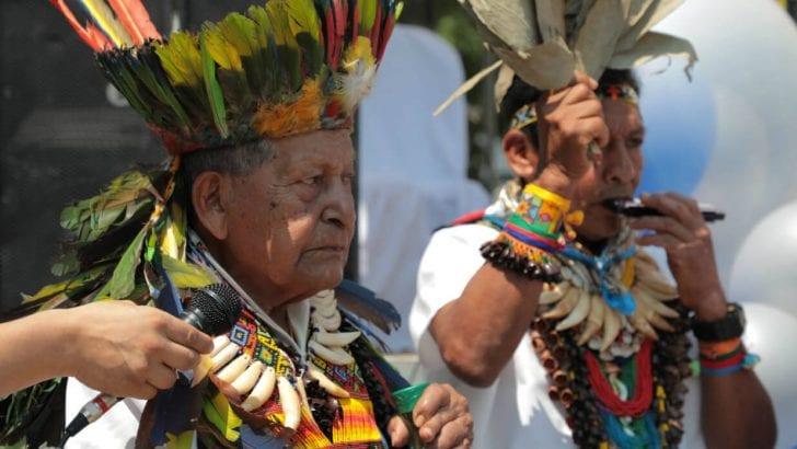 Con cantos y bailes se inauguró la casa de la verdad de la Amazonía