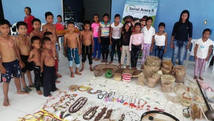 Proyecto sociocultural llegó a las comunidades indígenas de Puerto Leguízamo