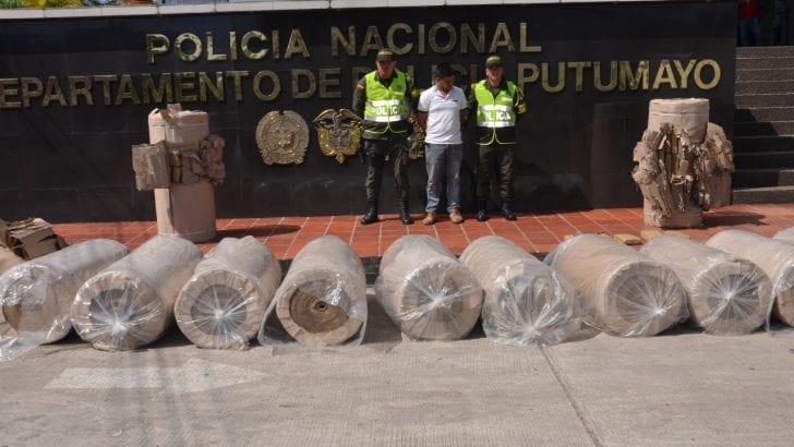 Incautados 260 kg de marihuana en carreteras al Putumayo