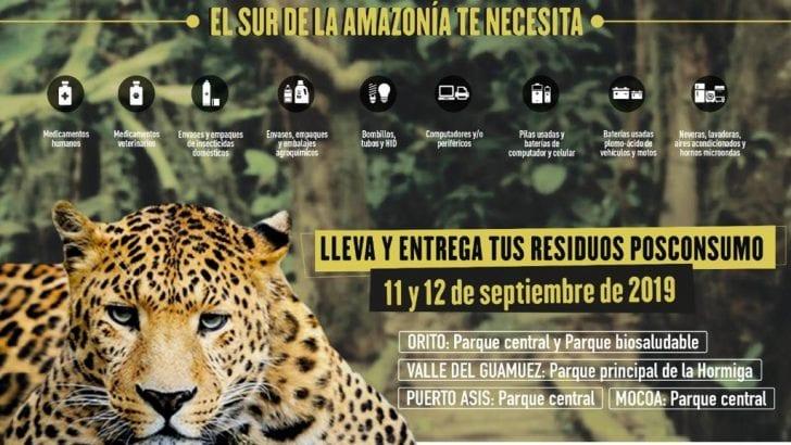 Gran jornada de Recolección de Residuos en el Sur de la Amazonía