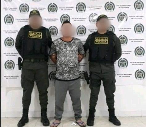 """La Policía Nacional capturó a """"virgo"""" por el delito  secuestro extorsivo, exigía 40 millones por la liberación de dos ciudadanos"""