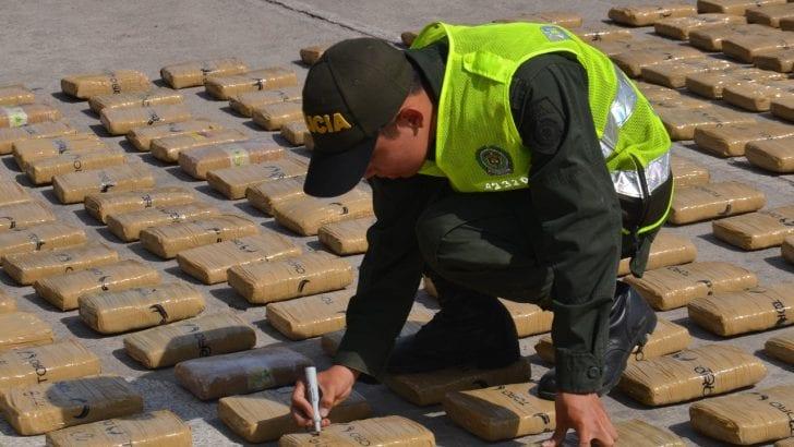 Incautada más de media tonelada de marihuana en Mocoa