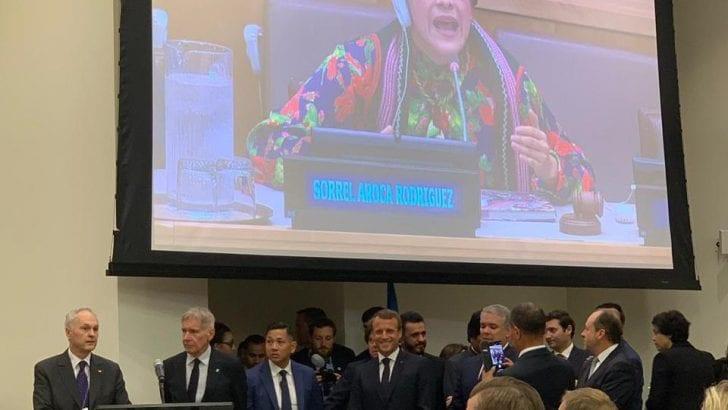 Desde la ONU gobernadora interviene en defensa de un desarrollo sostenible y protección de la Amazonía