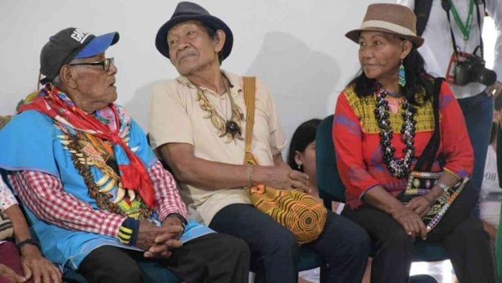 Autoridades indígenas realizaron manifiesto en pro de la Amazonia