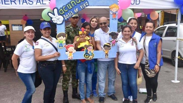 Putumayo recibe reconocimiento por su lucha contra el virus del sarampión y la rubeola