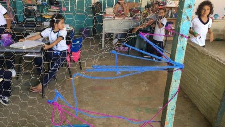 Estudiantes en Putumayo llevan ocho años esperando que construyan su colegio