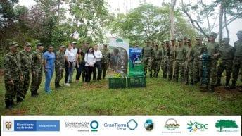 La Alianza Naturamazonas apoyados con el Ejército de Colombia en Putumayo, sembró 75 Mil árboles en 100 días