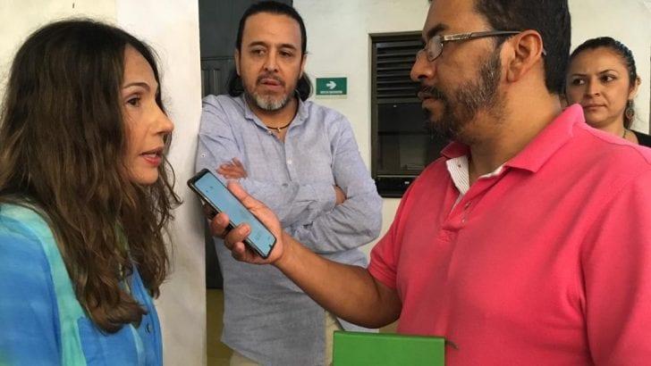 Nórida Rodriguez y Totó Vega del Festiver en Ficamazonía 2019