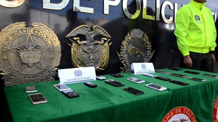 23 celulares hurtados, fueron recuperados en Putumayo