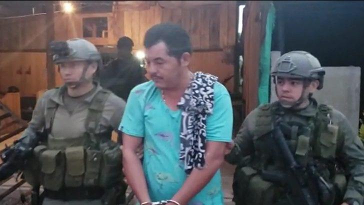Duro golpe contra el GAOr primero al mando de alias 'Iván Mordisco'
