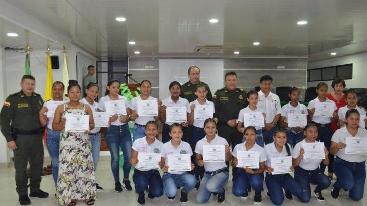 En Putumayo graduamos a 30 jóvenes de la Policía Cívica Juvenil