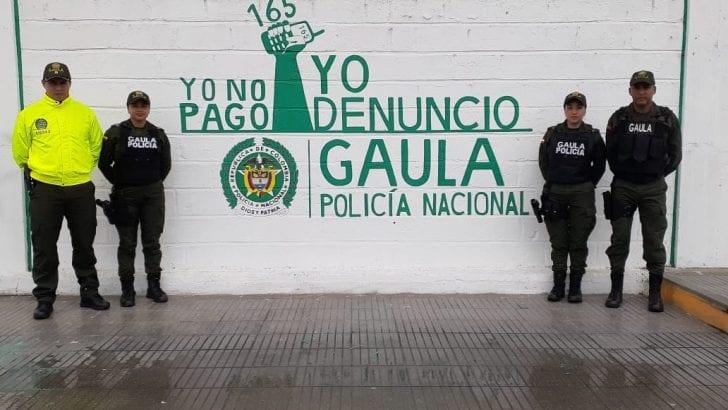 GAULA Putumayo, dio  a conocer su más reciente campaña de viralización denominada ¡Yo no pago, yo denuncio! dirigida comerciantes y comunidad en general.
