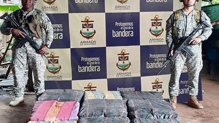 Hallados más de 190 kilogramos de alcaloide en el río Putumayo