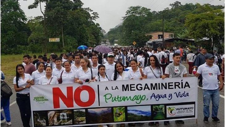 Marchar{e el 21N rechazando a una Amazonia Distrito Minero