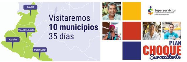 En Putumayo, Superservicios inicia Plan de Choque  de atención al ciudadano para el suroccidente del país