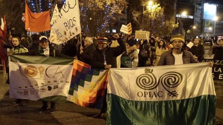 Preocupación en cumbre internacional de Madrid, indígenas invitados No son escuchados.