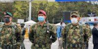 Por coronavirus, 500 militares llegan a la frontera con Ecuador