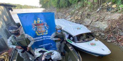 Armada de Colombia incauta perecederos en la Tagua, Putumayo