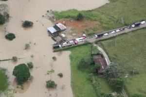 Puerto Guzmán en riesgo por las crecientes del río Caquetá