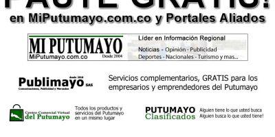Publimayo SAS apoya la reactivación económica en el Putumayo