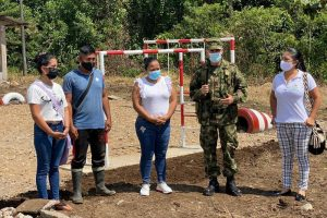 Ecopetrol, Ejército y alcaldías entregan parques infantiles en Putumayo