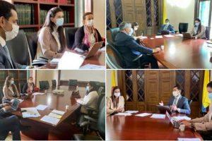 Reunión en MinInterior con terna de candidatos para gobernador del Putumayo