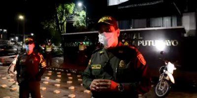En desarrollo del 'Plan 100 contra el microtráfico' 02 personas fueron capturadas y más 126 mil dosis salieron de las vías del Putumayo